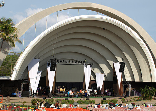 Outdoor auditorium Waikiki Shell