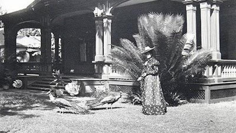 Princess Kaiulani at Ainahau in Waikiki
