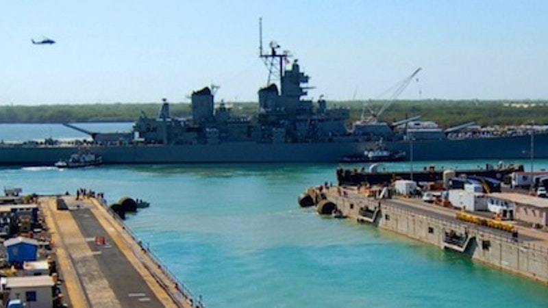 Mighty Mo is all shipshape at Pearl Harbor