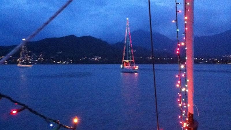 Hawaii holidays: Boat Parade of Lights