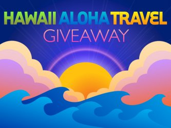 Hawaii Aloha Travel Promotional Giveaway poster