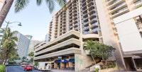 Aqua Palms Waikiki Hotel Front