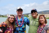 4 very happy clients of Hawaii Aloha Travel