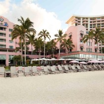 The Royal Hawaiian Hotel from the beach