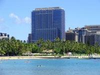 Trump International Hotel Waikiki Beach Walk Hotel Front
