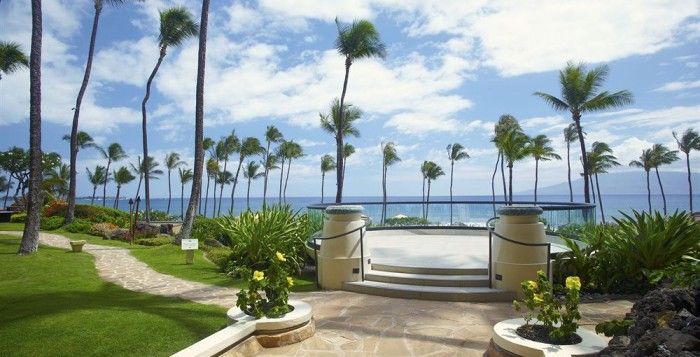 View from Hyatt Resort Maui