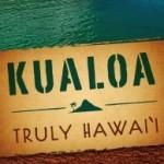 Kualoa Truly Hawaii sign
