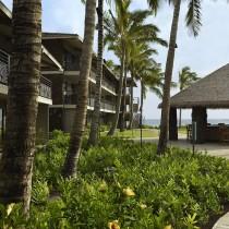 Outside shot of Koa Kea Resort