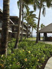 Outside shot of Koa Kea Resort