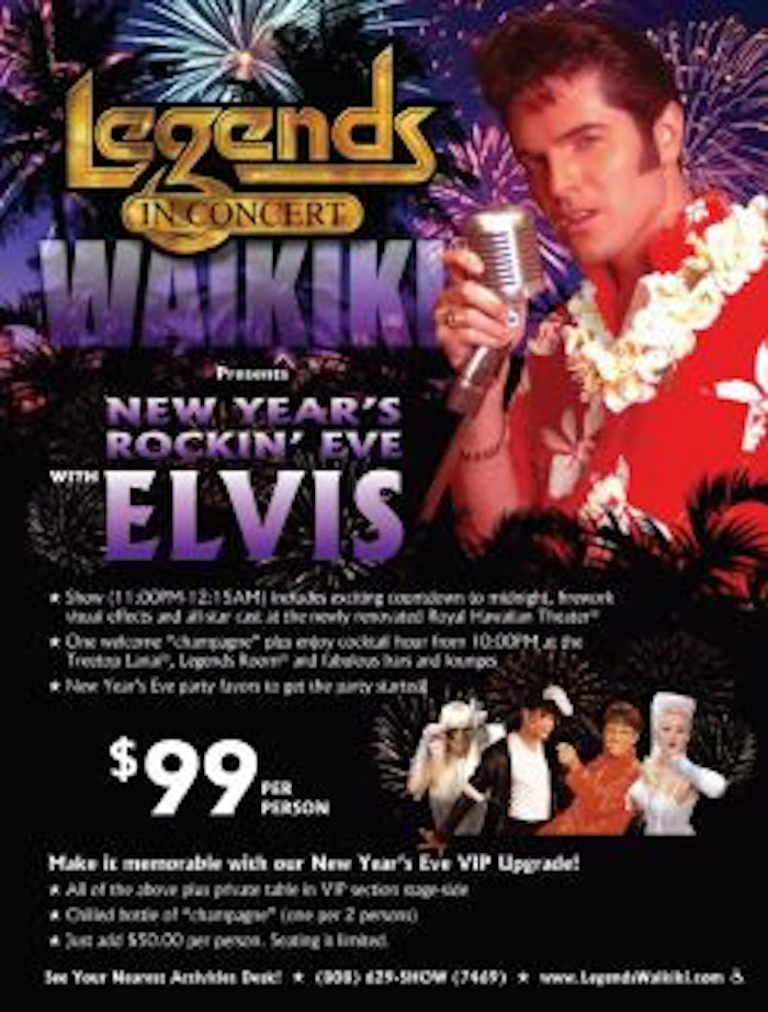 Legends in Concert comes to Waikiki