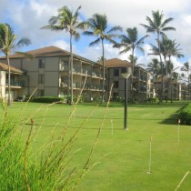 Exterior shot of the Marc Resorts Pono Kai