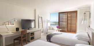 Two double beds at the Modern Honolulu