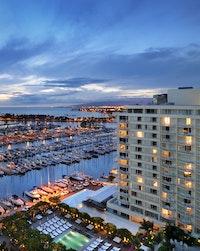 Aerial view of the Modern Honolulu Waikiki