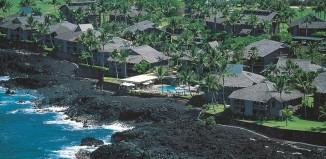 Aerial view of the Outrigger at Kanaloa