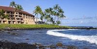 Arial shot of the Sheraton Kauai Resort