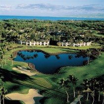 Aerial view of The Islands at Mauna Lani