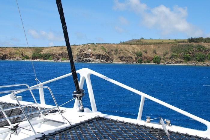 Catamaran Sailing on the Kaanapali Coast