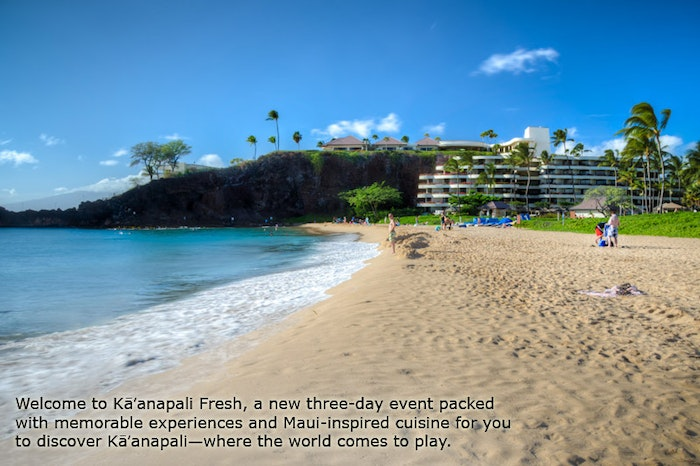 Tickets on Sale for Kaanapali Fresh