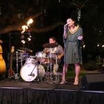 Jazz singer performs on stage at Royal Hawaiian