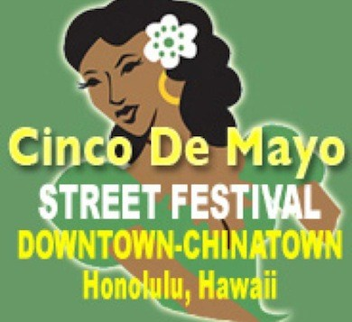 A poster for the Cinco De Mayo Street Festival