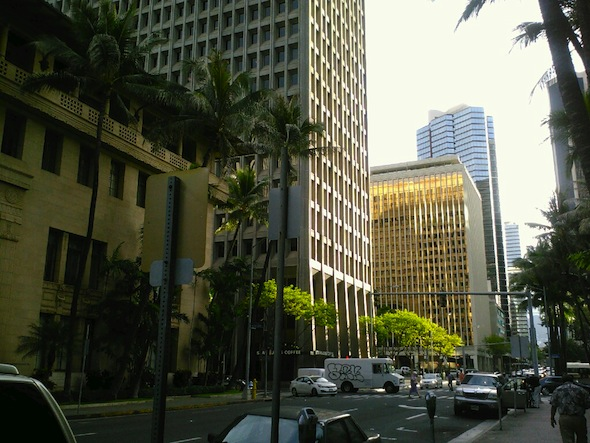 Unusual Happening In Downtown Honolulu