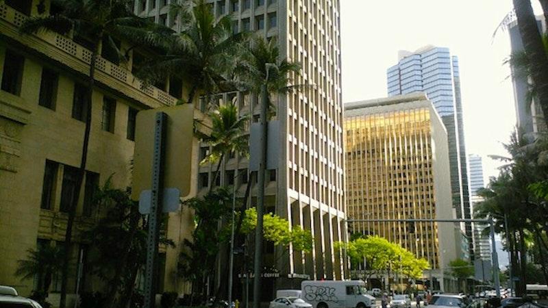 Unusual Happening in Downtown Honolulu