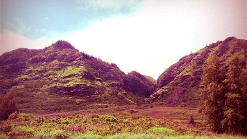 Ancient Hawaiian Sledding
