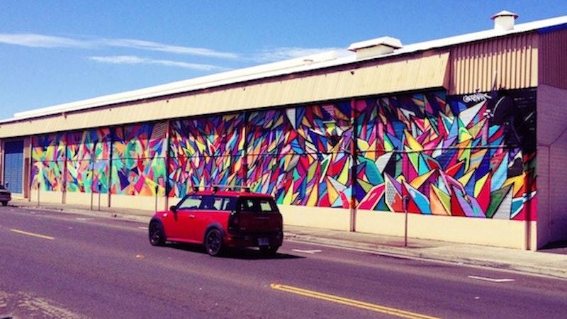 Urban Art Splashes the Kakaako District