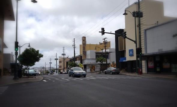 Waialae Avenue in Kaimuki