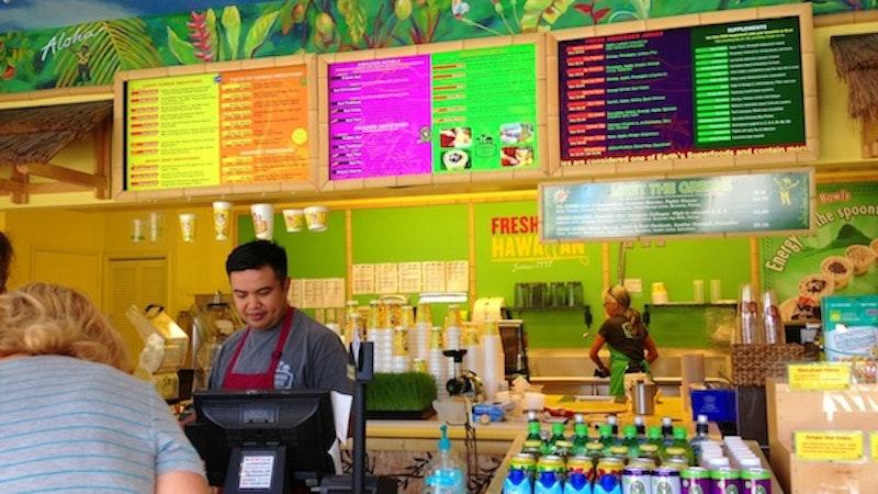 Lanikai Juice Found Beyond the Kailua Town