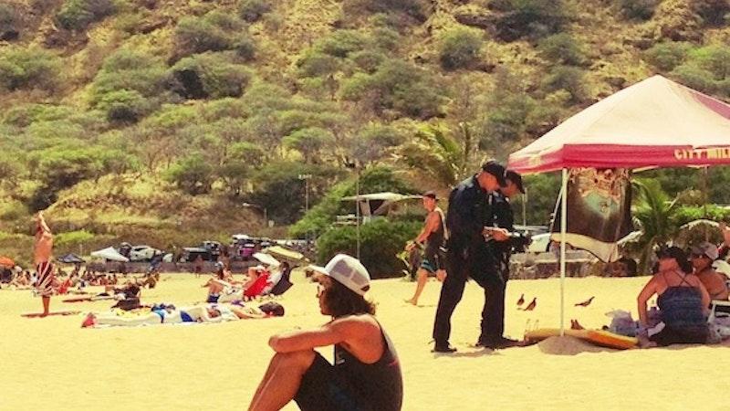 No Boozing on the Beach in Hawaii