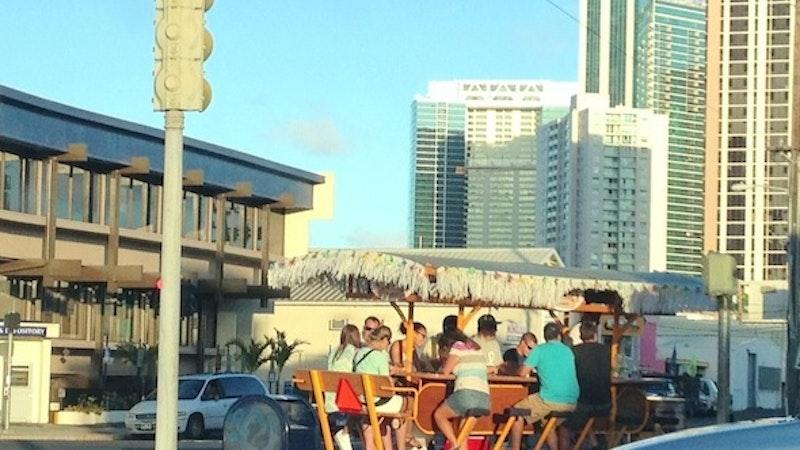 Sip N' Cycle Through Honolulu