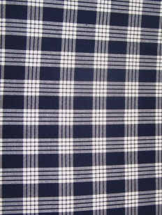 A piece of checkered fabric