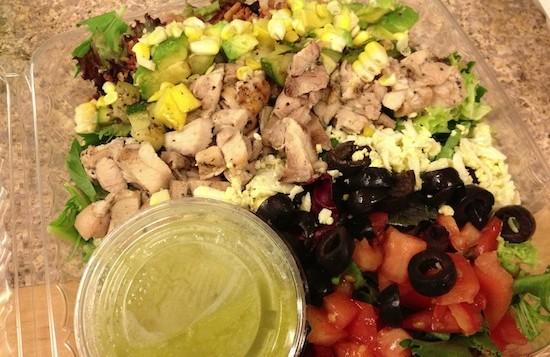 A cobb salad