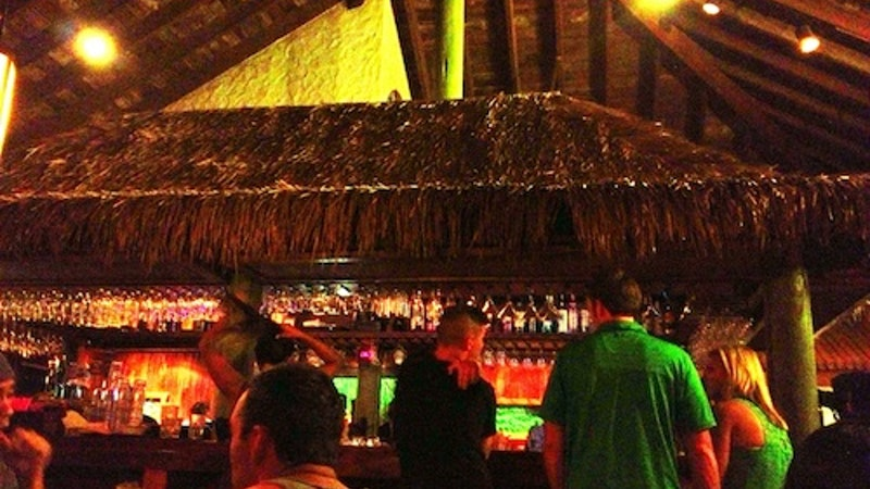 Barside at Keoki's Paradise
