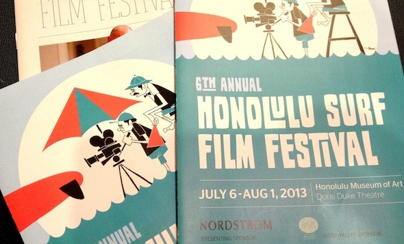 The program for the Surf Film Festival