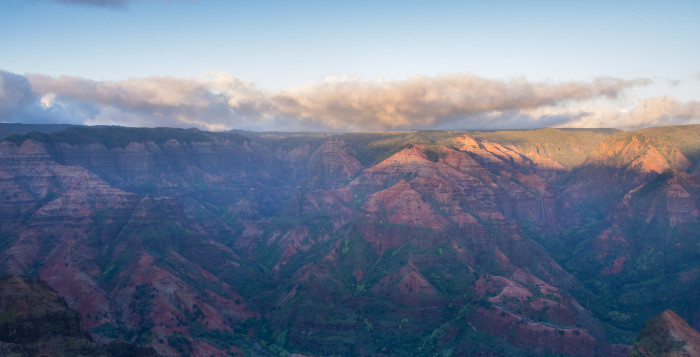 view of Waimea Canyon on Kauai