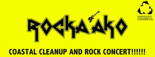 An advertisement for Rockaako event