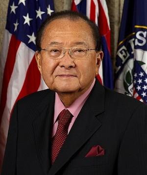 A headshot of Senator Daniel Inouye