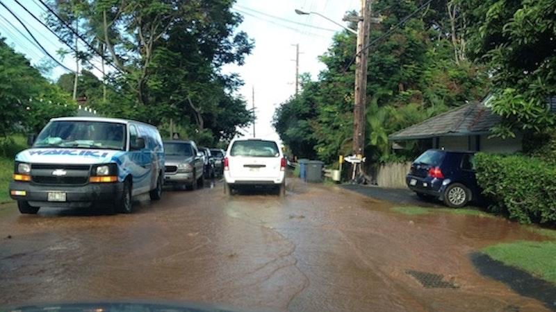 Traffic Jams on Kamehameha Highway