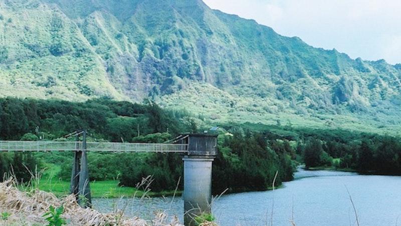 Hidden Reservoir in Nuuanu