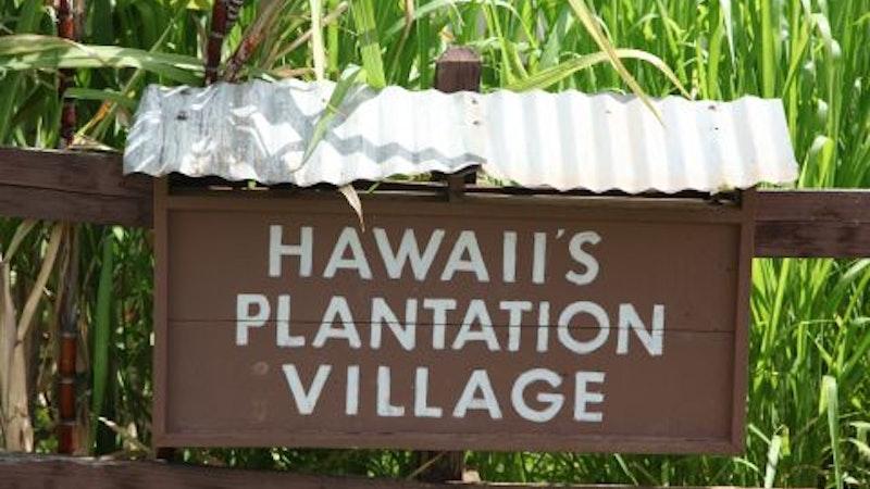 Visiting Hawaii's Plantation Village
