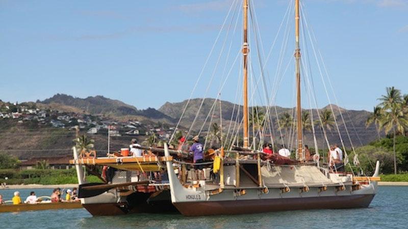 Hokulea Makes Worldwide Voyage