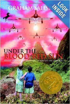 Cover page of Under the Blood Red Sun book
