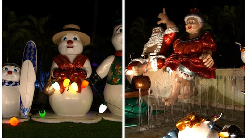 Enjoy the Holidays with Honolulu City Lights