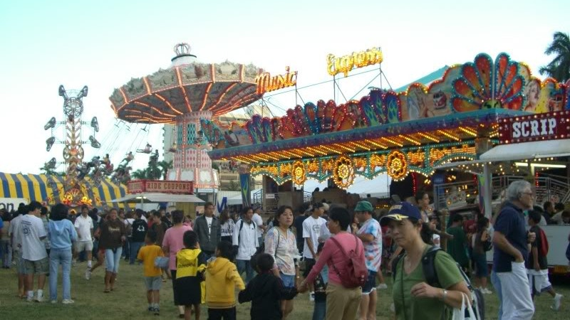 Will it Rain at the Punahou Carnival?