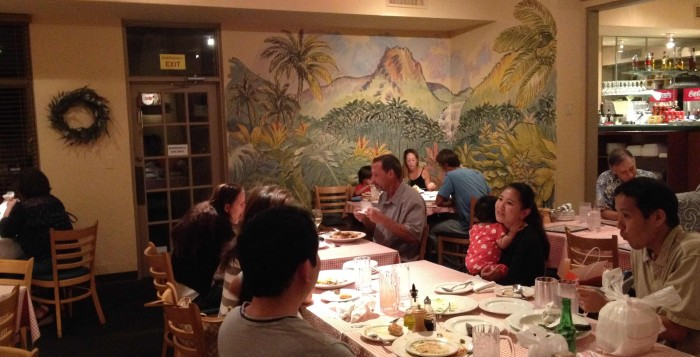 Customers enjoy the good food and charming ambiance at Happy Valley Pasta & Pizza