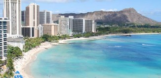A shot of Waikiki for the home page