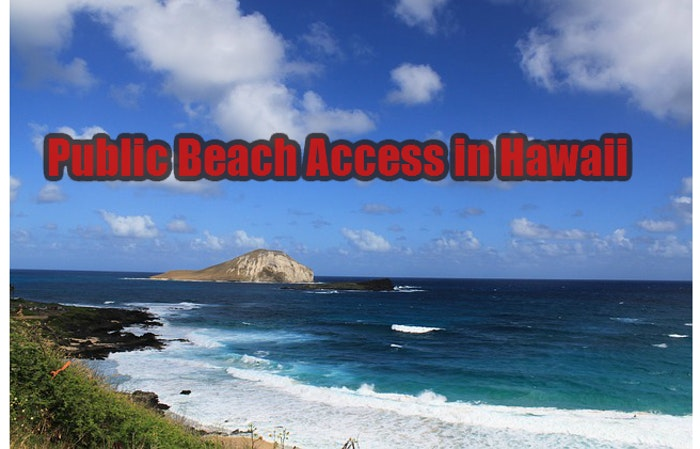 Public Beach Access in Hawaii