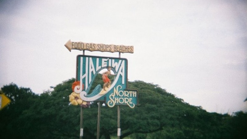 This Way To Historic Haleiwa Town